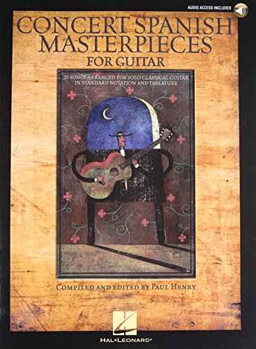 9781423403104: Concert Spanish Masterpieces for Guitar