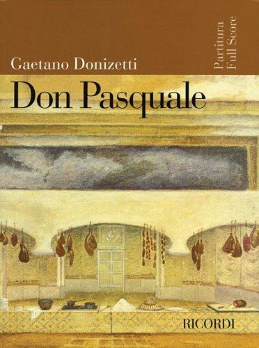 9781423403487: Don Pasquale (Ricordi Opera Full Scores)