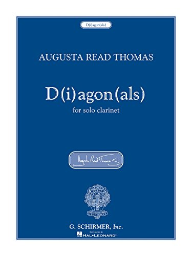 9781423403517: D(i)agon(als): for Solo Clarinet (Woodwind Solo)