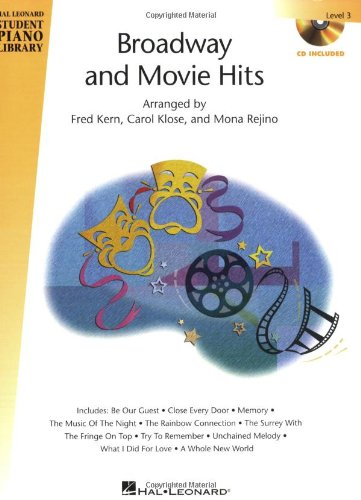 9781423403890: Broadway and Movie Hits - Level 3 - Book/CD Pack: Hal Leonard Student Piano Library (Hal Leonard Student Piano Library (Songbooks))