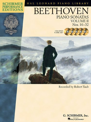 9781423403951: Beethoven - Piano Sonatas, Volume II - CDs Only (set of 5): Nos. 16-32 (Schirmer Performance Editions)