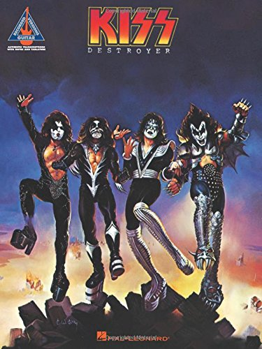 9781423404163: Kiss - Destroyer (Guitar Recorded Versions)