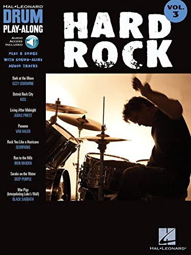 9781423404286: Hard Rock: Drum Play-along: 3 (Hal Leonard Drum Play-Along)