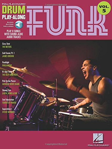 9781423404347: Drum Play-Along Volume 5: Funk (Hal Leonard Drum Play-Along)