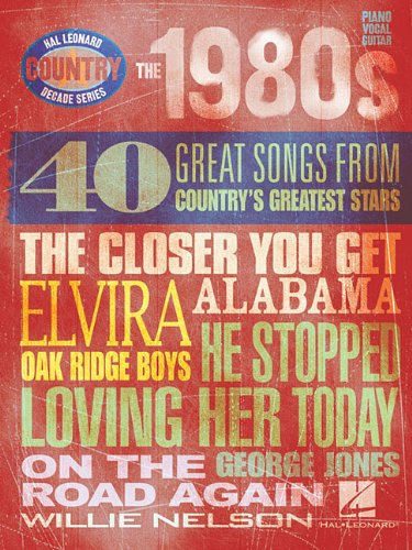 9781423405849: The 1980s - Country Decade Series (Hal Leonard Country Decade)