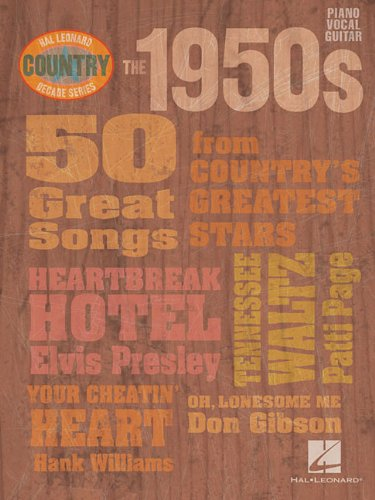 9781423406181: The 1950s - Country Decade Series (Hal Leonard Country Decade Series)