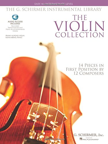 The Violin Collection - Easy to Intermediate Violin/piano G.schirmer Instrumental Lib Format: Softcover Audio Online