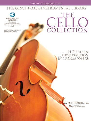 9781423406471: The Cello Collection - Easy to Intermediate Level: G. Schirmer Instrumental Library (Book & CD)