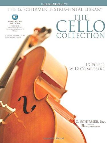 9781423406556: The G. Schirmer Instrumental Library: The Cello Collection - Intermediate Book/Audio