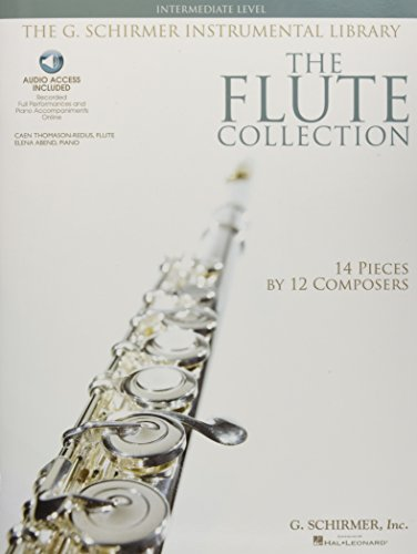 9781423406563: The Flute Collection - Intermediate Level: Schirmer Instrumental Library for Flute & Piano Bk/Online Audio (The Schirmer Instrumental Library)