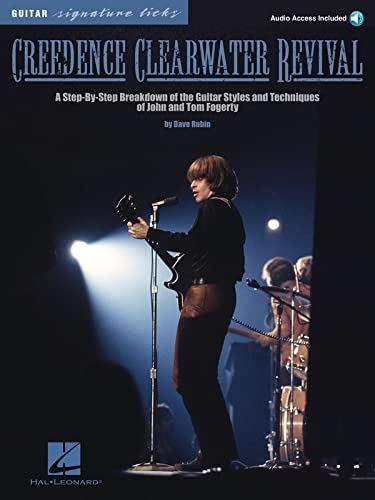9781423406815: Creedence Clearwater Revival Guitar Signature Licks Bk/CD