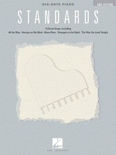 9781423406938: Standards (Big-Note Piano)