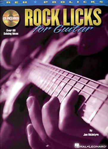 9781423406969: Rock Licks for Guitar Guitare +CD (REH Prolicks)