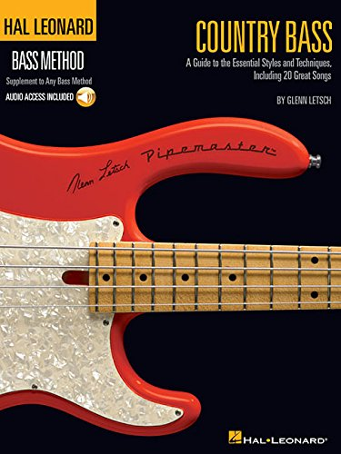 Country Bass: A Guide to the Essential Styles and Techniques [With CD] (Hal Leonard Bass Method): ...