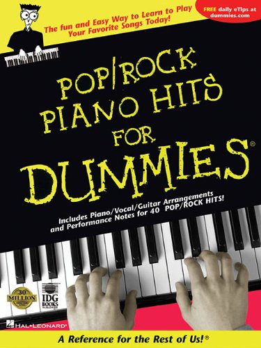 9781423407751: Pop/Rock Piano Hits for Dummies: A Reference for the Rest of Us!