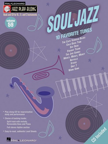 9781423407898: Soul Jazz: Jazz Play-Along Volume 59 (Hal Leonard Jazz Play-Along)