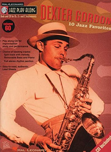 9781423407997: Dexter Gordon: Jazz Play-Along Volume 60