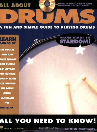 9781423408185: All About Drums: A Fun and Simple Guide to Playing Drums