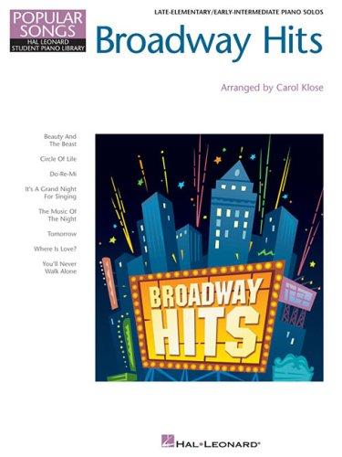 9781423408376: Broadway Hits: Hal Leonard Student Piano Library Popular Songs Series (Hal Leonard Student Piano Library (Songbooks))