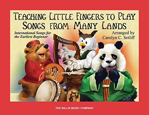 9781423408574: Teaching Little Fingers To Play Songs from Many Lands