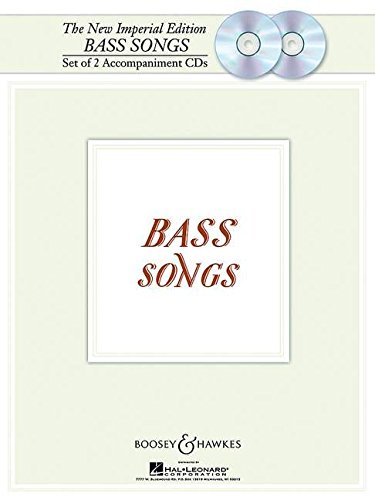 9781423408659: New Imperial Edition Bass Songs Set Of 2 Accompaniment CDs