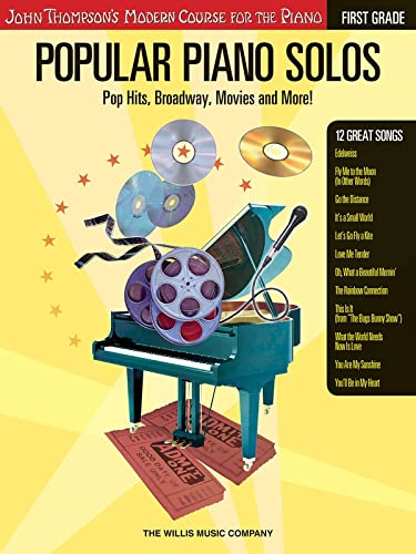 9781423409045: Popular Piano Solos - Grade 1: Pop Hits, Broadway, Movies and More! John Thompson's Modern Course for the Piano Series