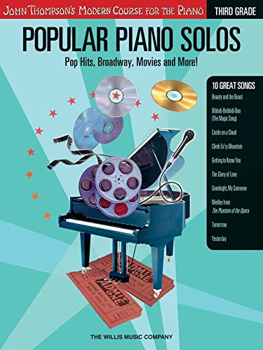 9781423409069: Popular Piano Solos - Grade 3: Pop Hits, Broadway, Movies and More! John Thompson's Modern Course for the Piano Series