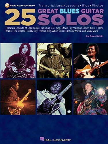 9781423409137: 25 Great Blues Guitar Solos: Transcriptions * Lessons * Bios * Photos (Guitar Book)
