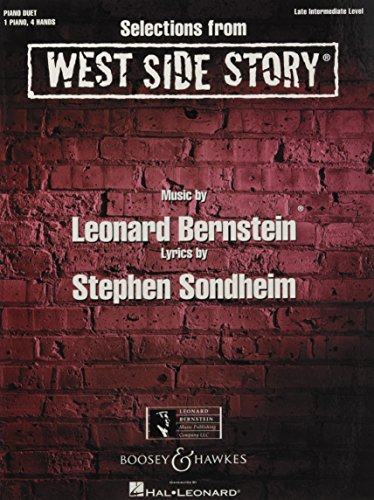 Selections from West Side Story: Late Intermediate: Arthur Laurents