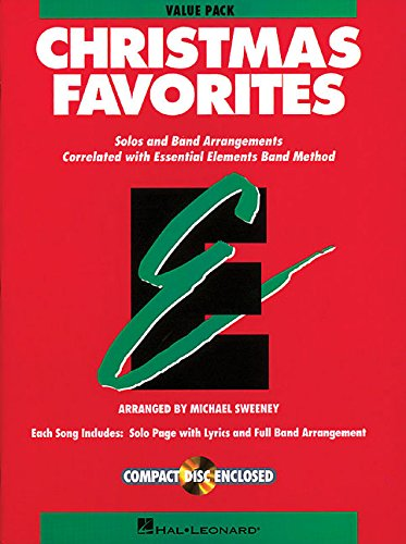 9781423409762: Essential Elements Christmas Favorites: Value Pak (37 part books, conductor score & CD)