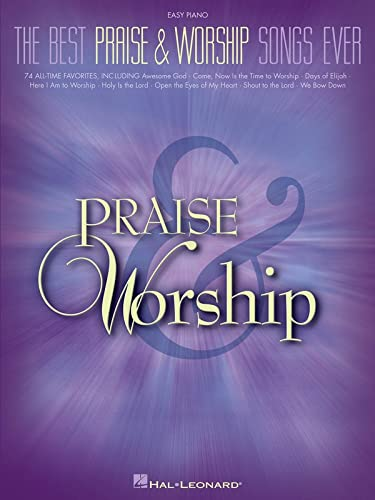 9781423410065: The best praise & worship songs ever piano