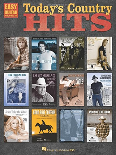 Today's Country Hits (Easy Guitar with Notes & Tab): Hal Leonard Corp.