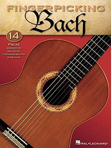 Fingerpicking Bach (Paperback)