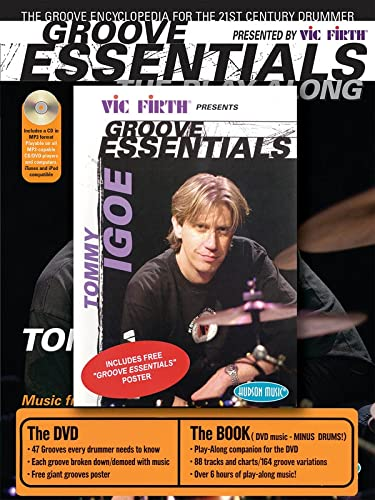 9781423411277: Tommy Igoe: Groove Essentials (Book, CD & DVD)