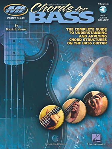 9781423411987: CHORDS FOR BASS BK/CD (Musicians Institute: Master Class)