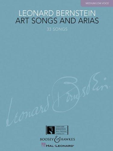 9781423412113: Leonard Bernstein - Art Songs and Arias: Medium/Low Voice