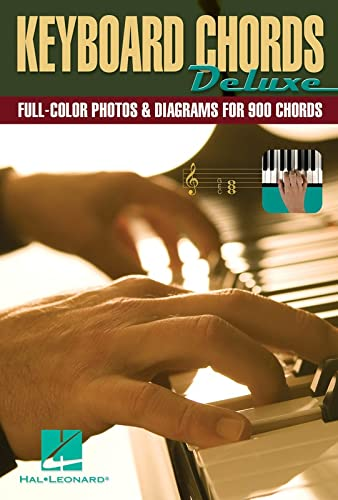 9781423412489: Keyboard Chords Deluxe: Full-Color Photos and Diagrams for Over 900 Chords