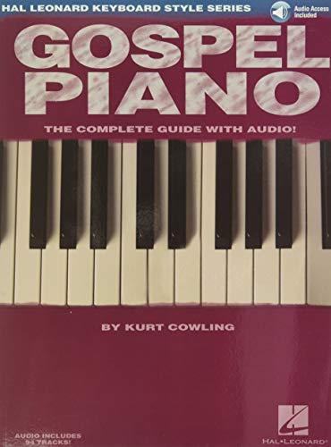 9781423412496: Gospel Piano: Hal Leonard Keyboard Style Series Bk/online audio