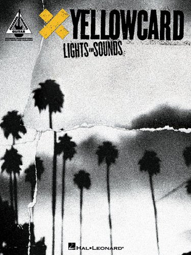 9781423412687: YELLOWCARD LIGHTS AND SOUNDS (Guitar Recorded Versions)