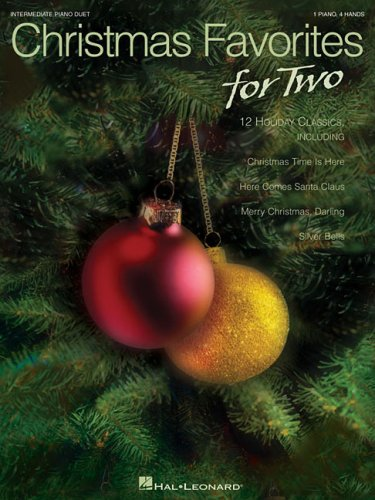 9781423413660: Christmas Favorites for Two 1 Piano 4 Hands Intermediate Piano Duet