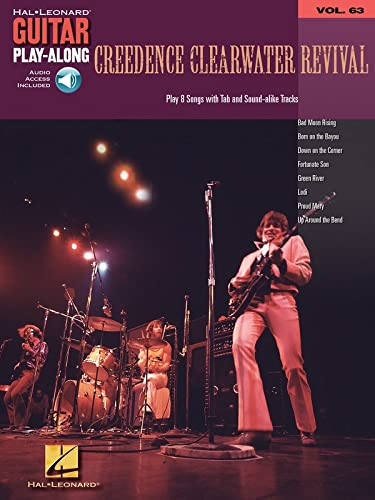 9781423413837: Creedence Clearwater Revival: Guitar Play-Along Volume 63 (Hal Leonard Guitar Play-Along) BK/Audio