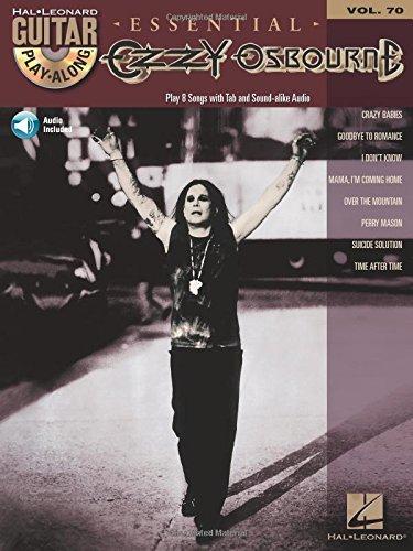 Ozzy Osbourne: Guitar Play-Along Volume 70 (Hal Leonard Guitar Play-Along): Osbourne, Ozzy