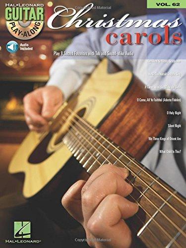 9781423413943: Christmas Carols: Guitar Play-Along Volume 62 [With CD] (Hal Leonard Guitar Play-Along)