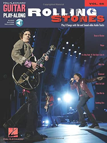 9781423414087: Guitar Play-Along Volume 66: Rolling Stones (Hal Leonard Guitar Play-Along)