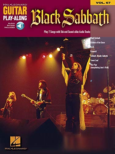 9781423414094: BLACK SABBATH VOLUME 67 BK/CD (Guitar Play-Along)