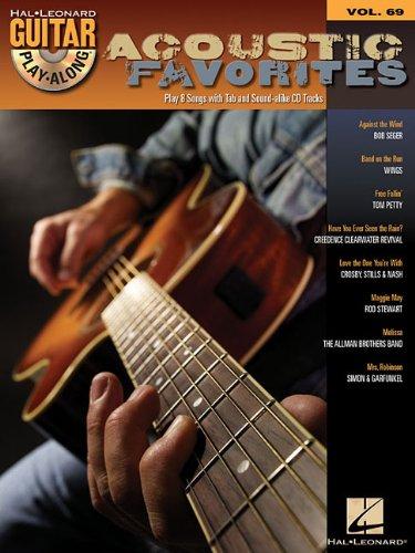 9781423414117: Acoustic Favorites Guitar Play-Along BK/CD Vol.69
