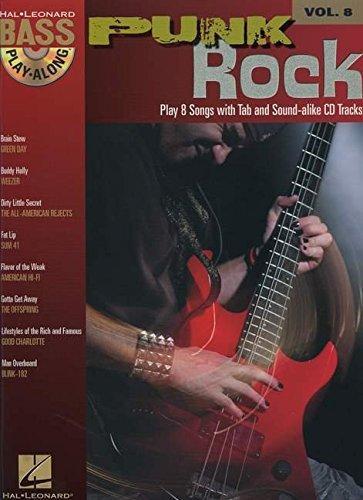 9781423414179: Bass Play Along Vol.8 Punk Rock Tab CD