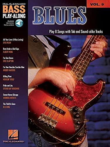 9781423414223: Blues Bass Play-along: Pt. 9