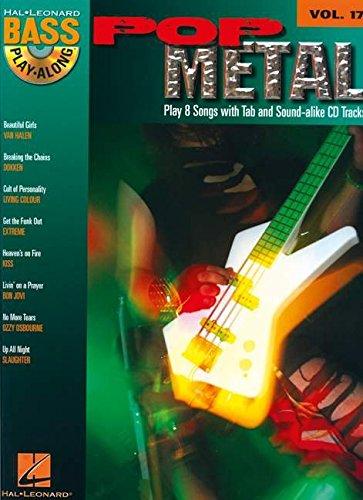 9781423414438: Bass Play-Along Vol.17 Pop Metal + Cd