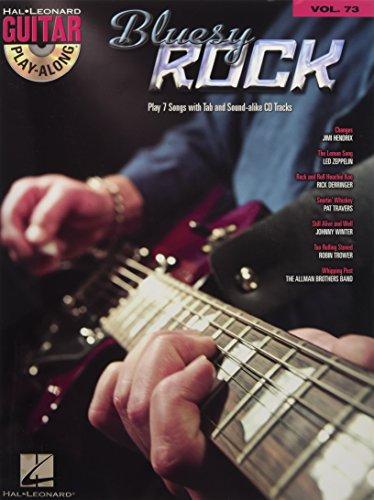 9781423414520: Bluesy Rock: Guitar Play-Along Volume 73 (Hal Leonard Guitar Play-Along)